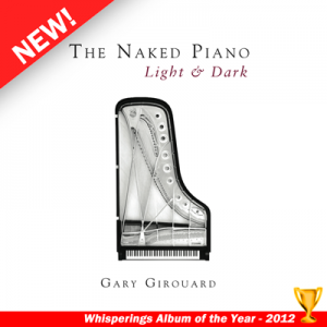 The Naked Piano Light and Dark Album Cover - Whisperings 2012 Album of the Year