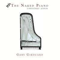 Naked Piano Christmas Album Cover - 200 X 200