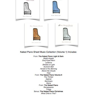 Naked Piano Sheet Music Collection – Volume 1 (PDF download)