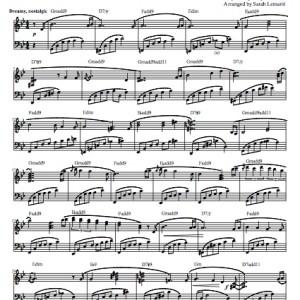 """Renaissance"" Solo Piano Sheet Music (from The Naked Piano)"