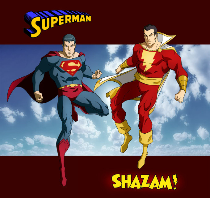 Shazam!! And other childhood heroes…