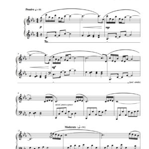 """Redemption"" Solo Piano Sheet Music (from The Naked Piano Transitions)"