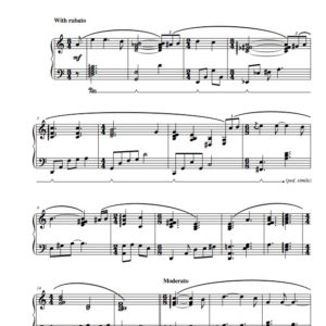 """""""I'll be Home for Christmas"""" Solo Piano Sheet Music (from The Naked Piano Christmas)"""