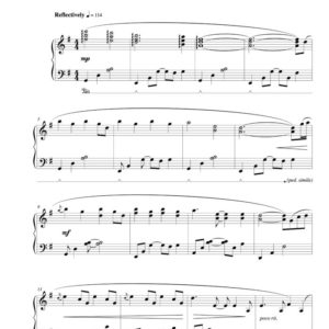 """""""Trilogy"""" (original version) Solo Piano sheet music (from The Naked Piano)"""
